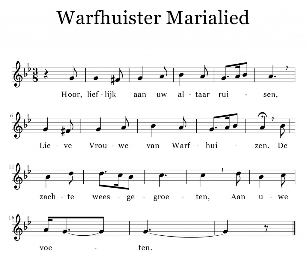 Warfhuister Marialied